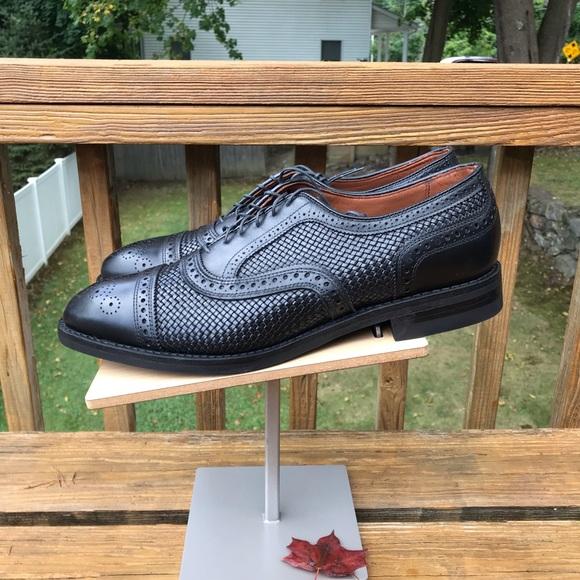 Allen Edmonds Strand Weave Black Size 1